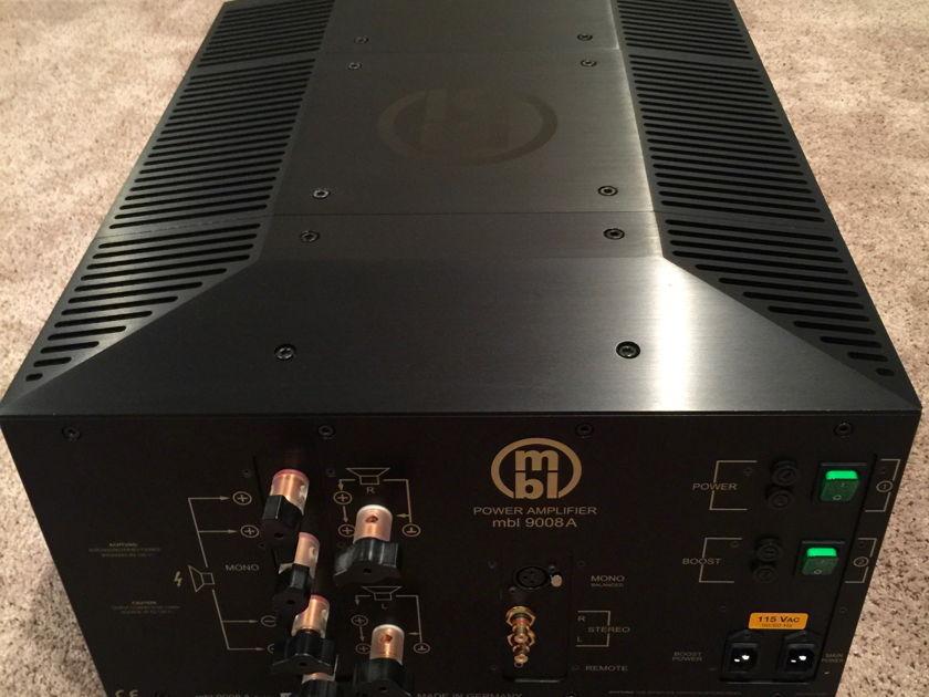 MBL 9008A Monoblock Amplifiers (PAIR)