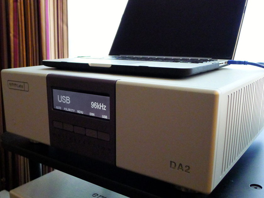 EMM Labs DA2 DAC new reference state of the art DAC $CALL