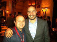 Marcel Dawson, founder of RIAMarketplace and inStream chief Alex Murguia
