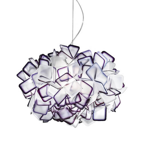 Slamp Clizia Pendant in Purple