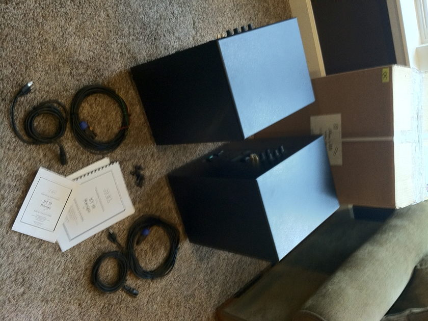 Rel  Strata III Subwoofer Pair In Black For Sale