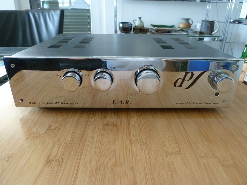 EAR 868 Linestage Preamp  Silver