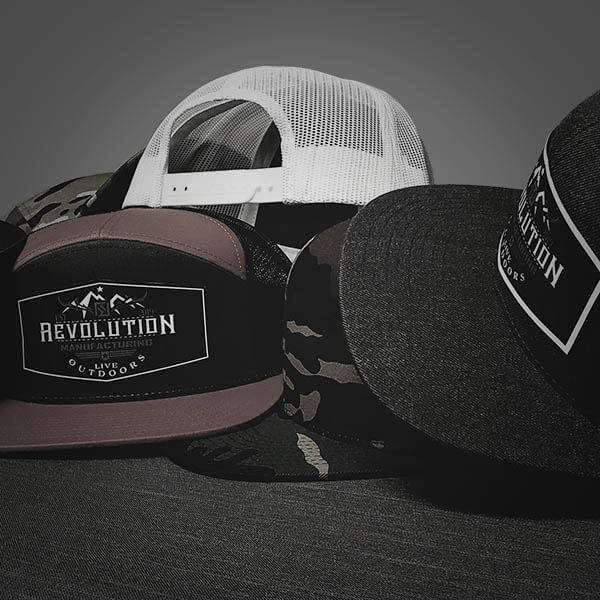 Revolution Manufacturing Custom Patch Hats