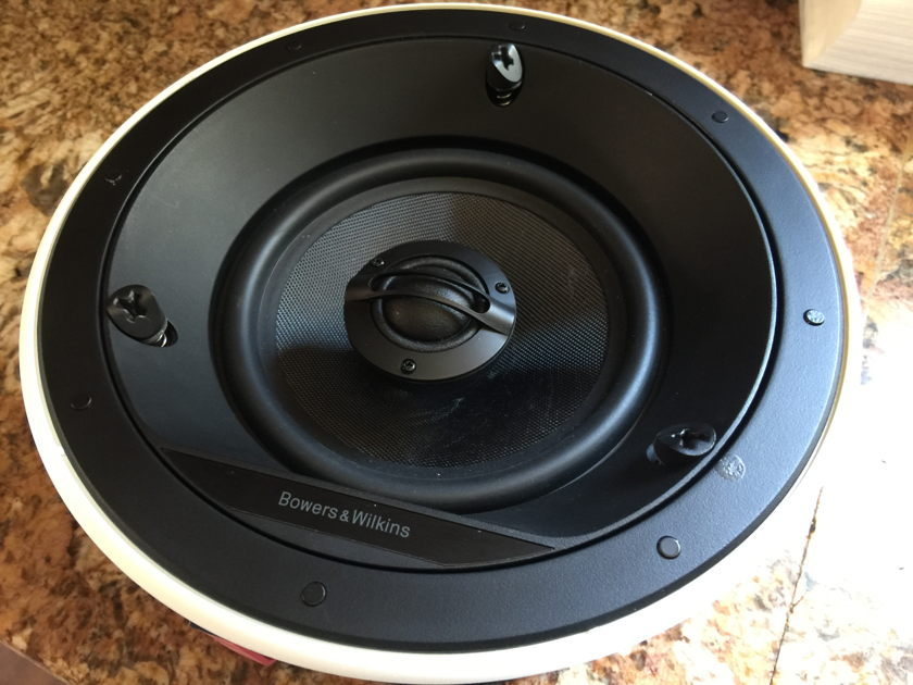 Bowers & Wilkens BW CCM665 Single Round In-Ceiling Speaker - NEW!