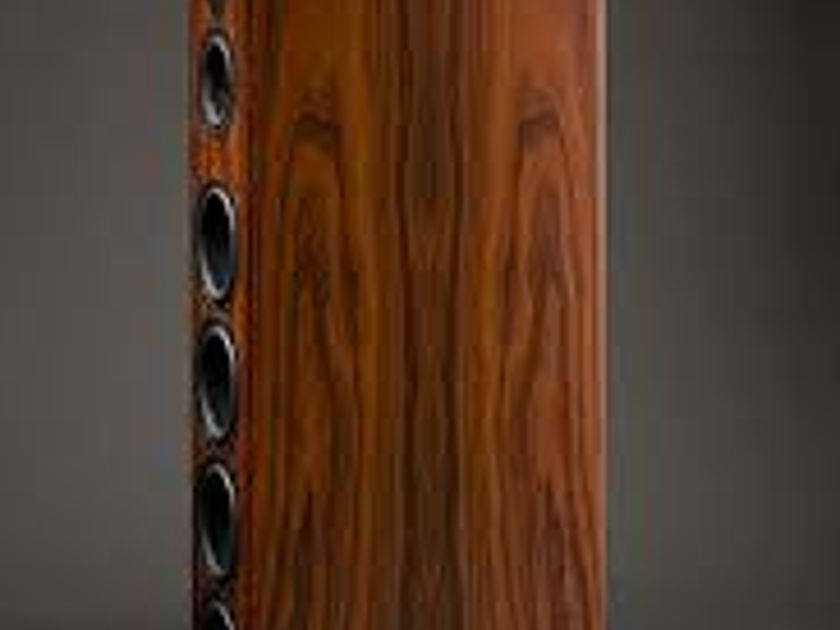 Aerial Acoustics Model 9 Rosewood like new model 9 speakers -wow