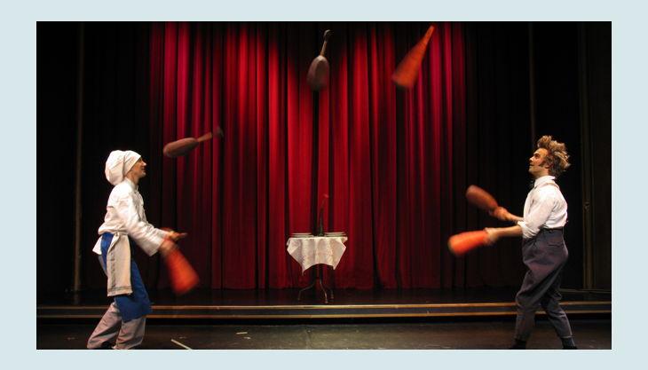 coq au vin jonglieren