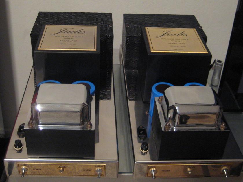 Jadis  JA 80 Tube Mono Block Amps 220/240Volt