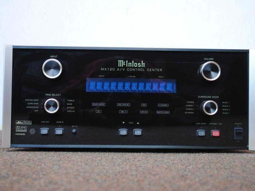 McIntosh MX120  A/V Controller
