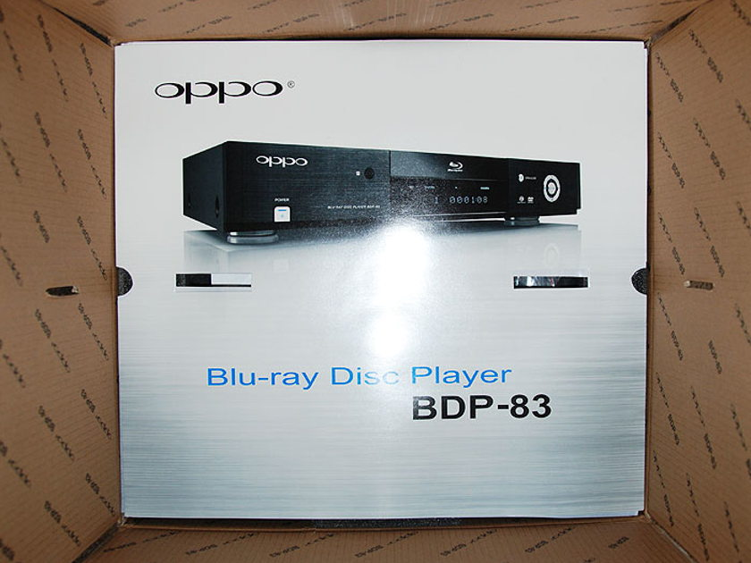 OPPO BDP - 83SE  Blu-Ray SPECIAL EDITION Universal Player