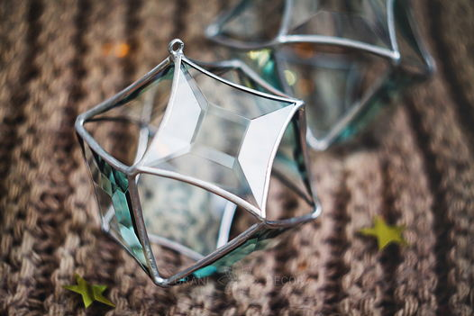 Большой Кристалл Звезда (новогоднее украшение)