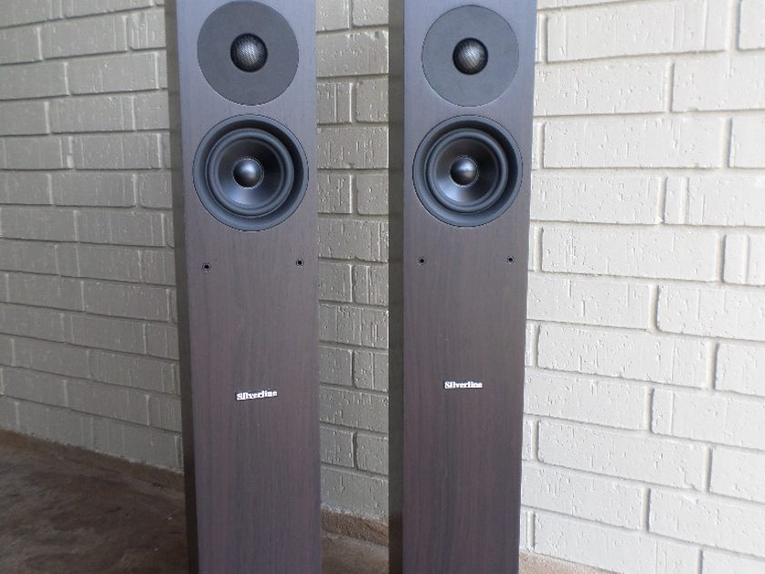 Silverline Audio Preludes in Rosewood Excellent, orig owner, includes Silverline speaker cables