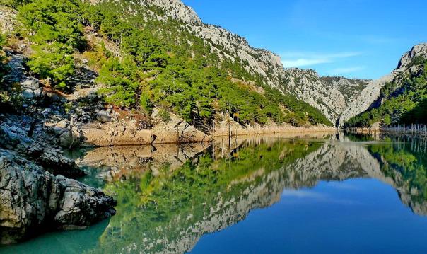 Прогулка к Зеленому каньону из Антальи