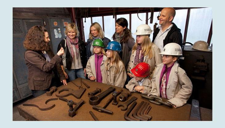 stiftung zollverein arbeitsmaterial zeche