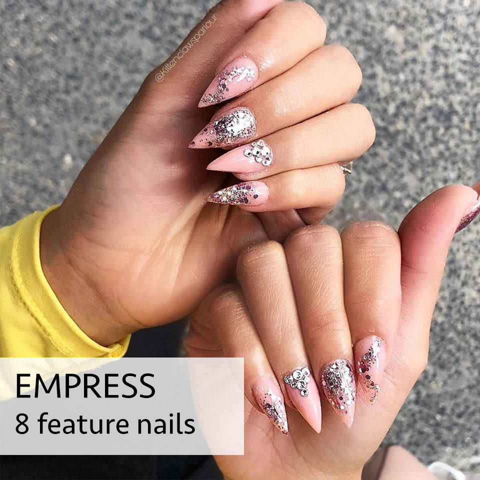 empress acrylic nails