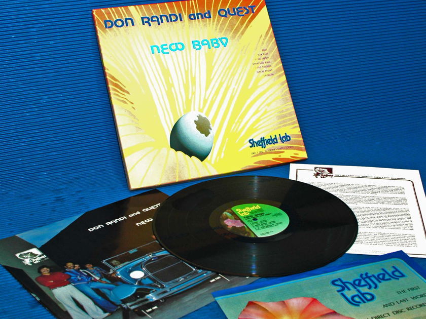 "DON RANDI & QUEST -  - ""New Baby"" -  Sheffield Lab D-D 1979"