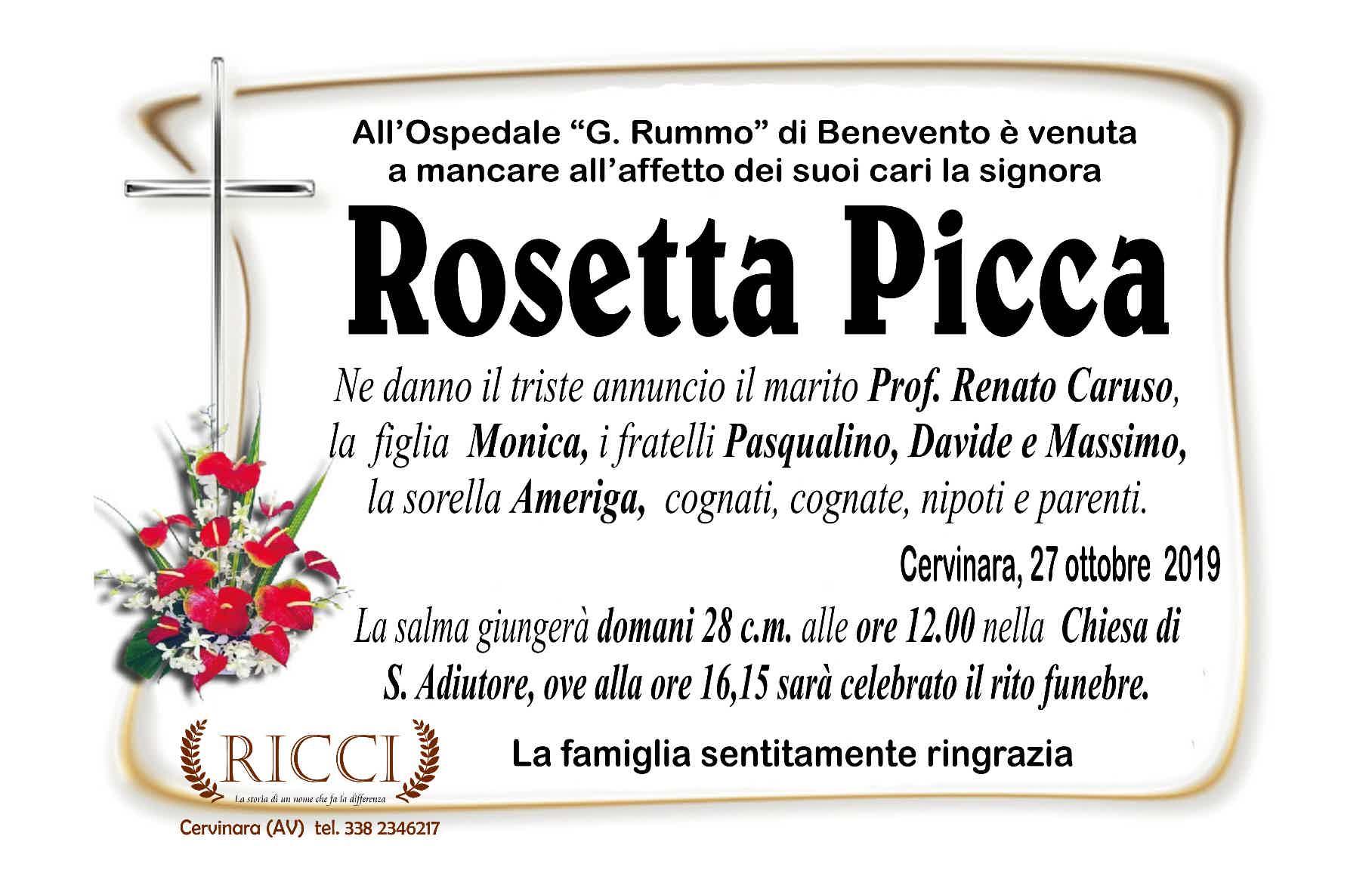 Rosetta Picca