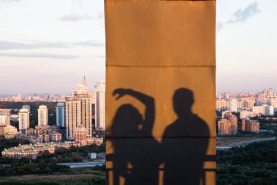 Свидание на крыше Москвы