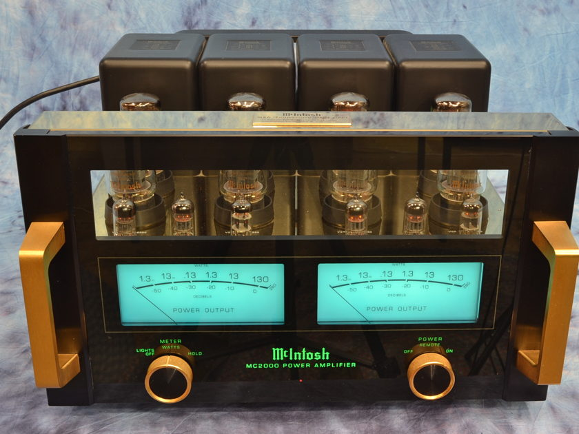 McIntosh MC-2000 50th Anniversary Limited Edition 130w Stereo Tube Amplifier