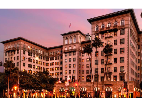Two Nights at the Iconic Beverly Wilshire
