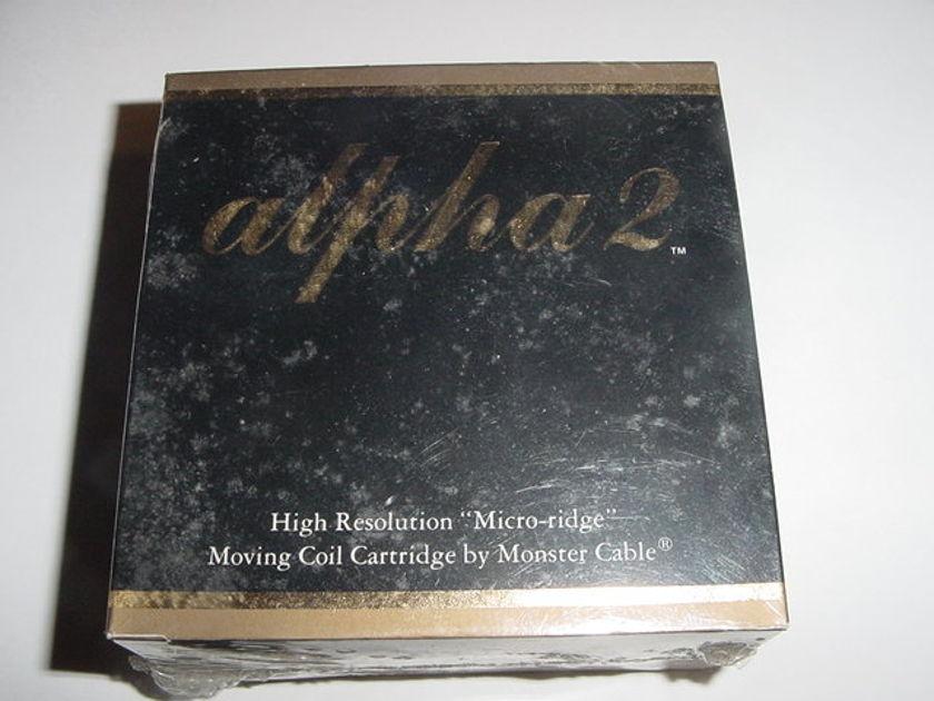 Monster Cable Alpha-2 HO cartridge LOMC ZYX brand  new sealed micro-ridge