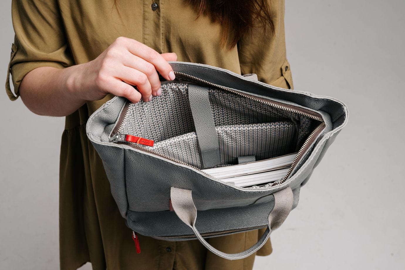 Рюкзак solen ( Кожаный рюкзак / сумка)