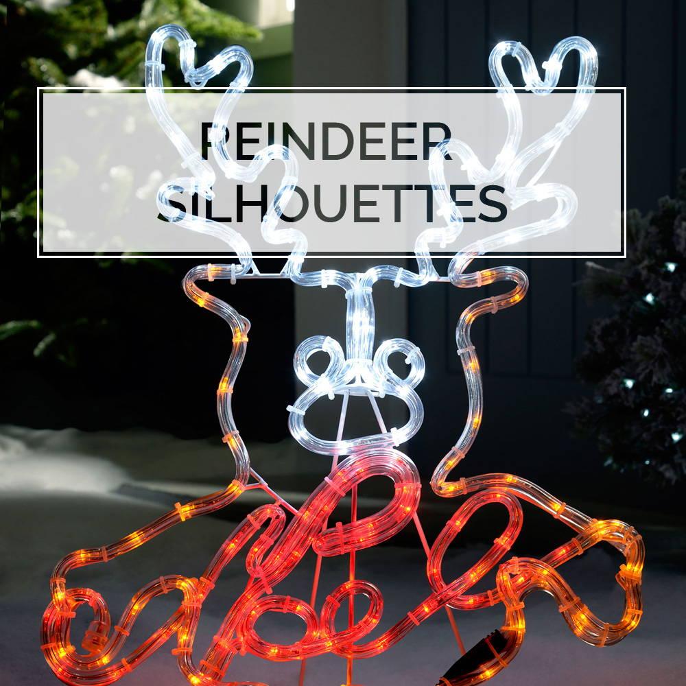 Reindeer Silhouettes