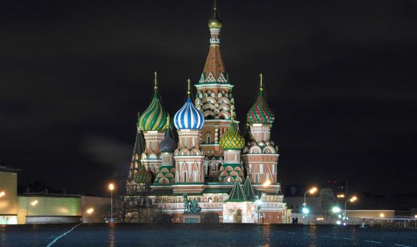 Экскурсия по вечерней Москве (пт, сб в 19:00)