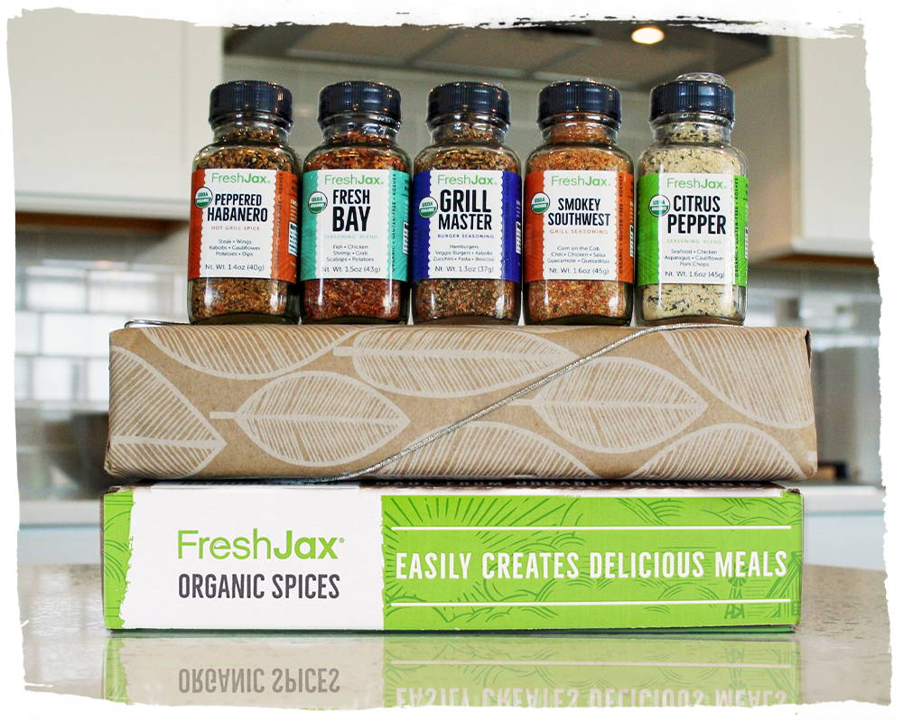 Customized Corporate Gifting 5 Pack Organic Spice Gift Set