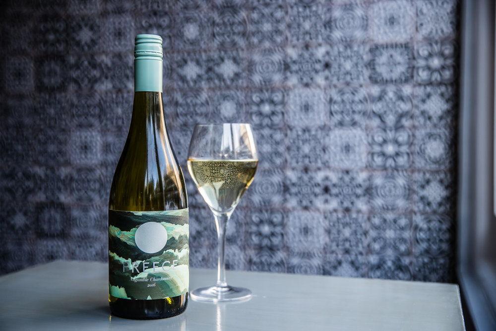 PREECE Chardonnay bottle and glass_AB5I9727.jpg