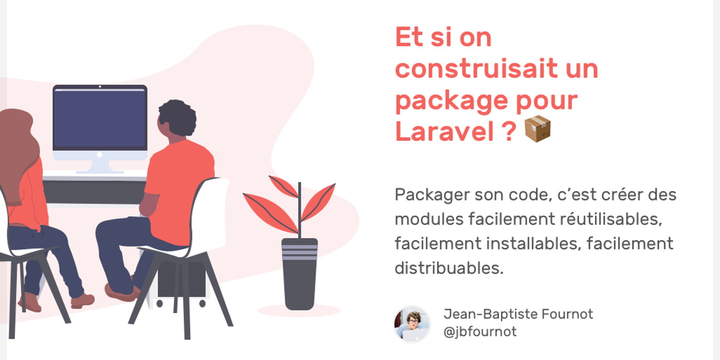 What if we build a package for Laravel?