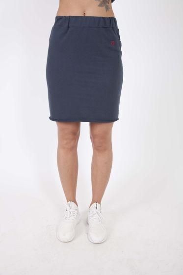 Хлопковая юбка на резинке ONE SIZE