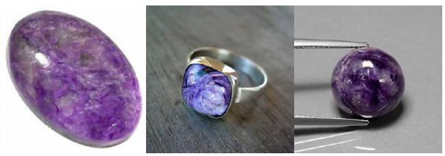 charoite gem yves lemay jewelry