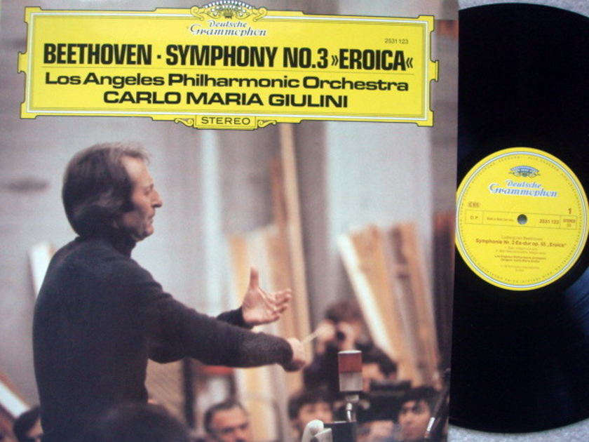 DG / Beethoven Symphony No.3 Eroica, - GIULINI/LPO, MINT!