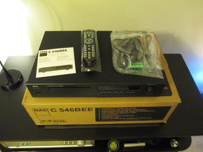 NAD C 546BEE CD player Boxed/Excellent