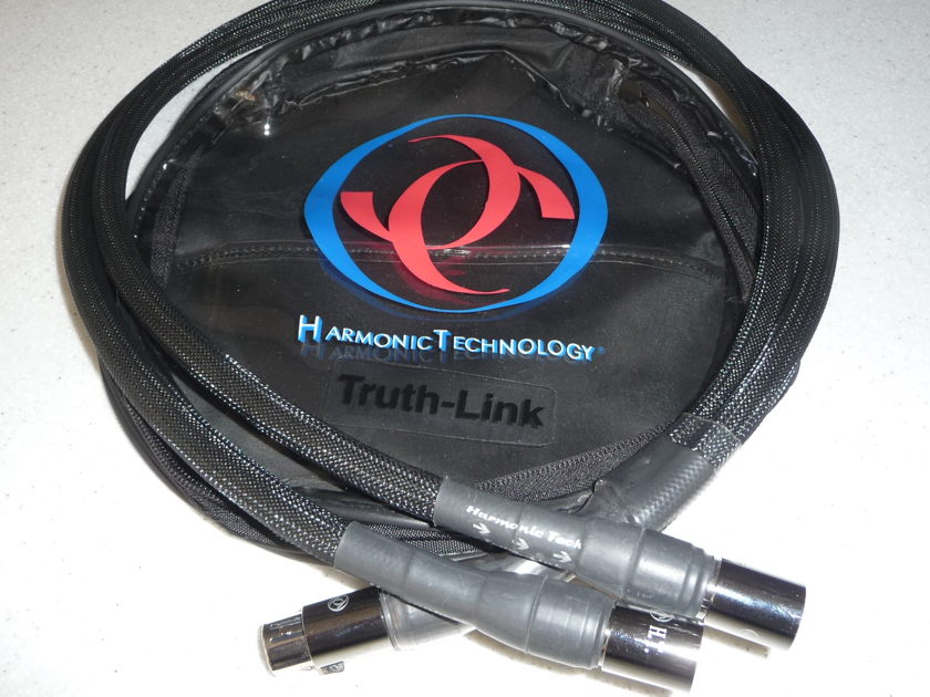 Harmonic Technology TruthLink 1M XLR Y-cable Original owner like new!