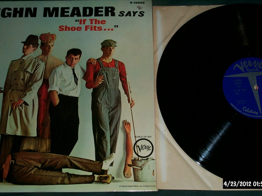 Vaughn Meader - Says If The Shoe Fits LP NM Verve Label