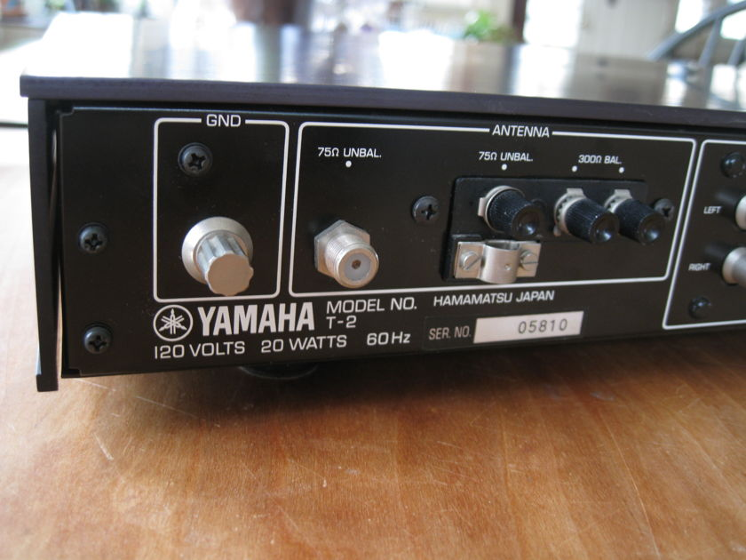 Yamaha T2 Yammy best tuner?  Certainly their coolest looking one BUY THIS