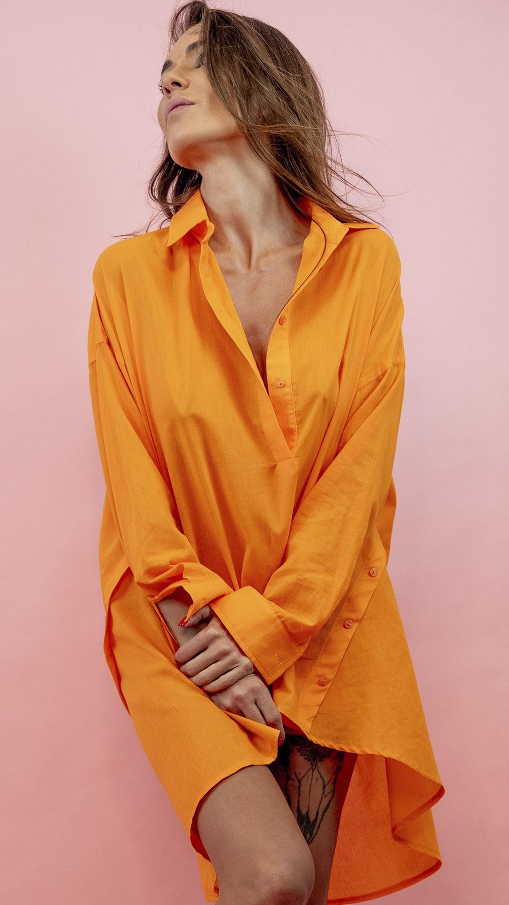 Рубашка Заводной Апельсин