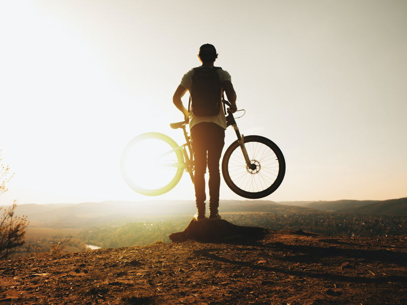 Blog: Mountainbike routes en opruimen