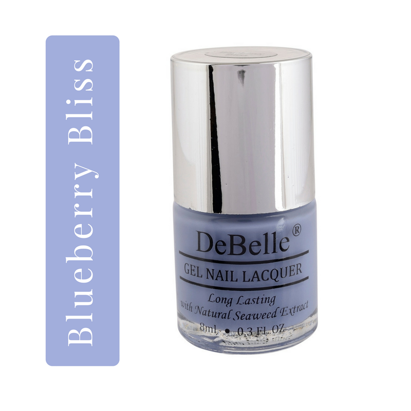 DeBelle purple Nail polish