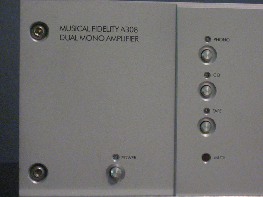 Musical Fidelity A 308 Integrated Amplifier Very Nice condition