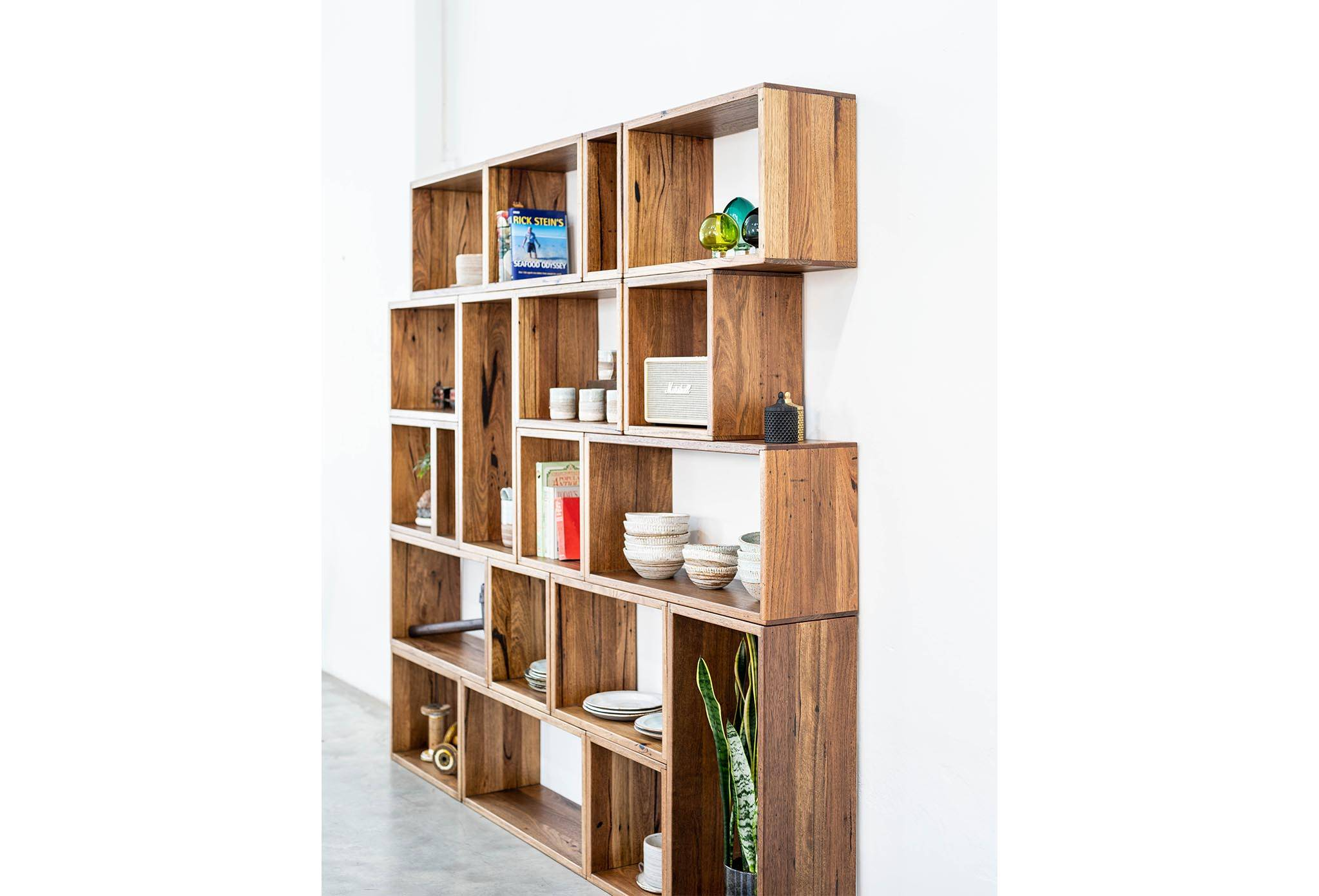 Recycled Timber Shelving Unit