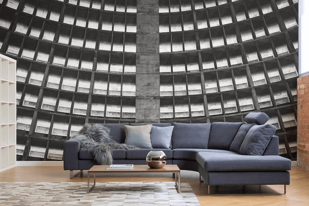 Brutalist Architecture Remade As Modern Wallpaper - 2Modern