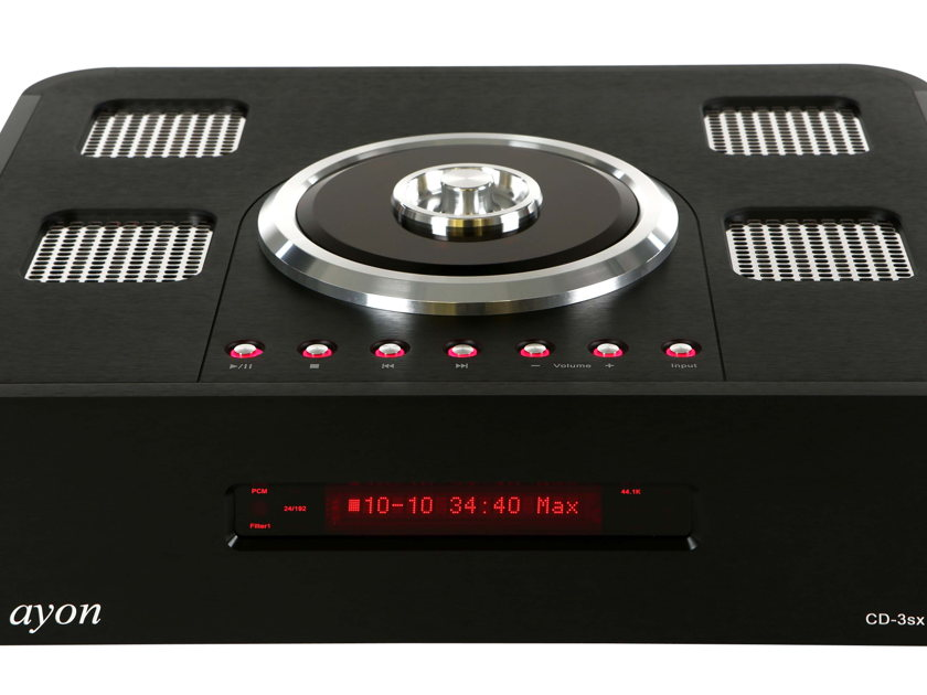 AYON AUDIO CD-3SX - CD PLAYER  PREAMP - DSD