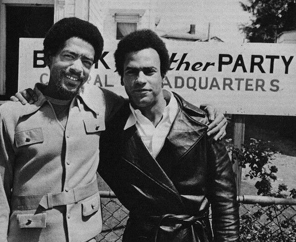 Huey P. Newton and Bobby Seale
