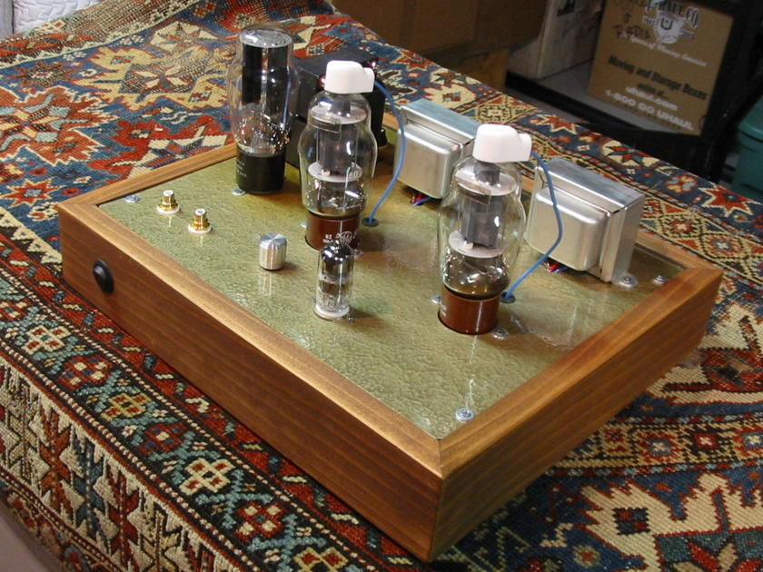 807 single ended amp, 4wpc - many extra tubes - Final $ reduction - tube rollers dream.!
