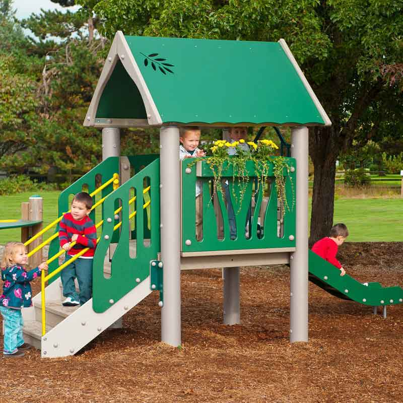 Recycled Playground Structure
