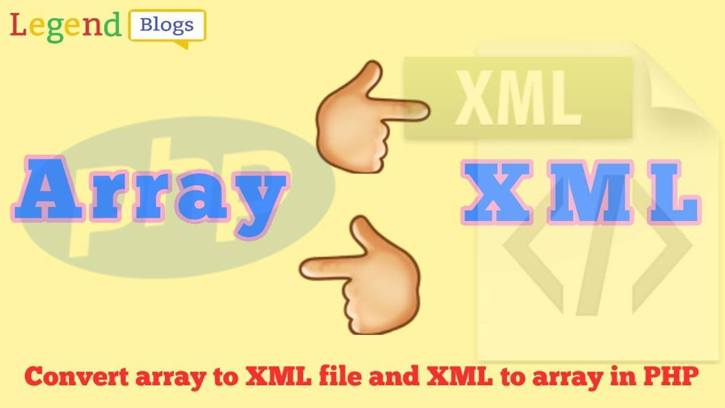 Convert multidimensional array to XML file in PHP | Codementor
