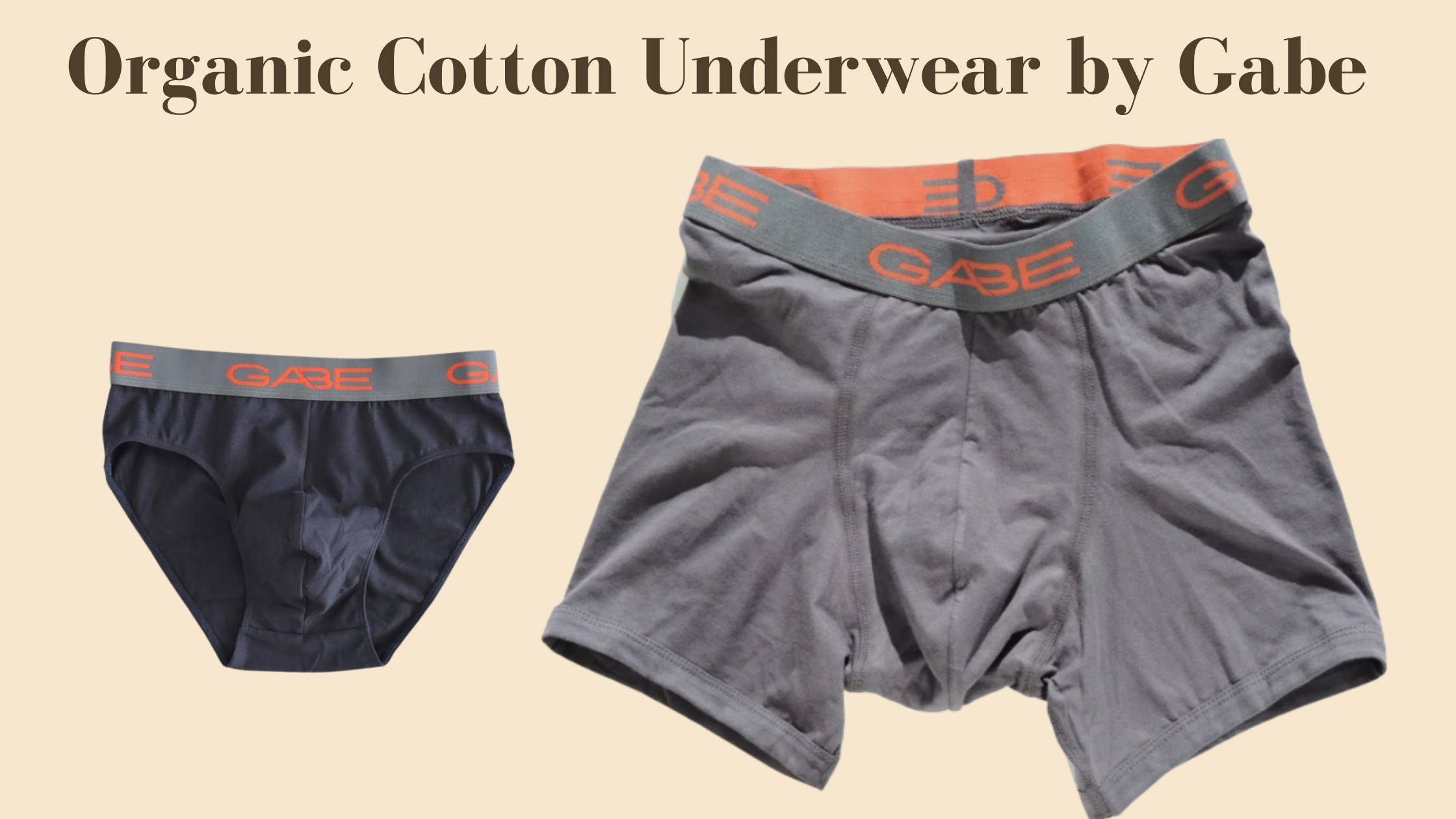 organic cotton boxers made in Canada