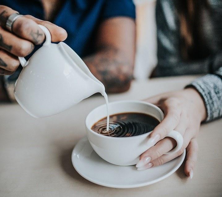 Caffe Misto With Cream